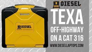 Download Video TEXA Off Highway on CAT 316 Excavator - DPF Regen, Injector Coding, & More MP3 3GP MP4
