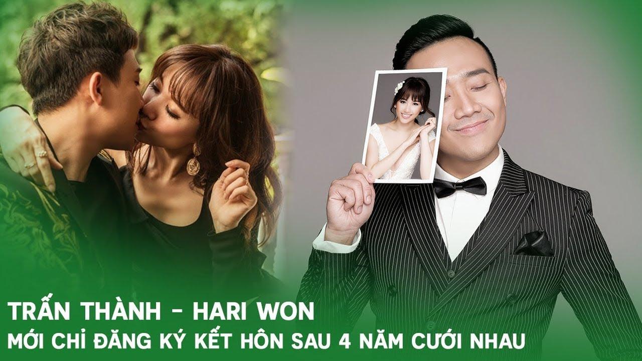Cưới nhau 4 năm nhưng Hari Won - Trấn Thành mới đăng kí kết hôn vào năm ngoái