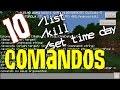 COMO USAR 10 COMANDOS NO MINECRAFT POCKET EDITION 0.16.0 (MCPE - MINECRAFT PE)