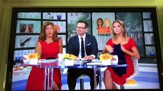 Kathie Lee and Hoda on the Today Show Featured our Sleep Tight Gown! 8.14.18
