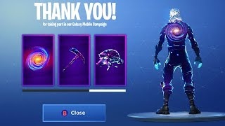 I GOT GALAXY SKIN SET and HOW TO GET IT in Fortnite Battle Royale!