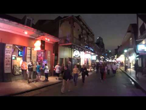 Walking Down Bourbon Street With My New GoPro