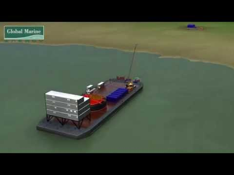 Global Marine Systems - Cable Ploughing Operation