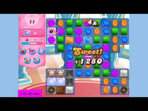 Candy Crush Saga Level 3274 NO BOOSTERS Cookie