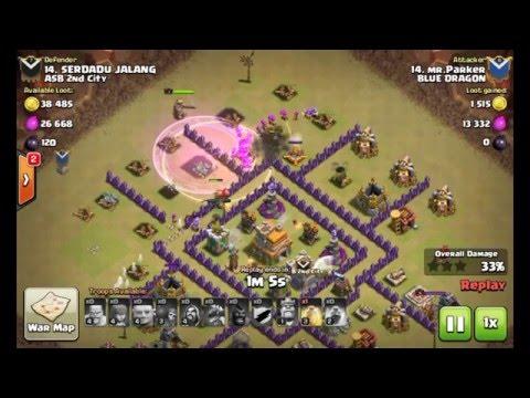 Base Coc Th 7 Terkuat Anti Naga Dan Giant 4