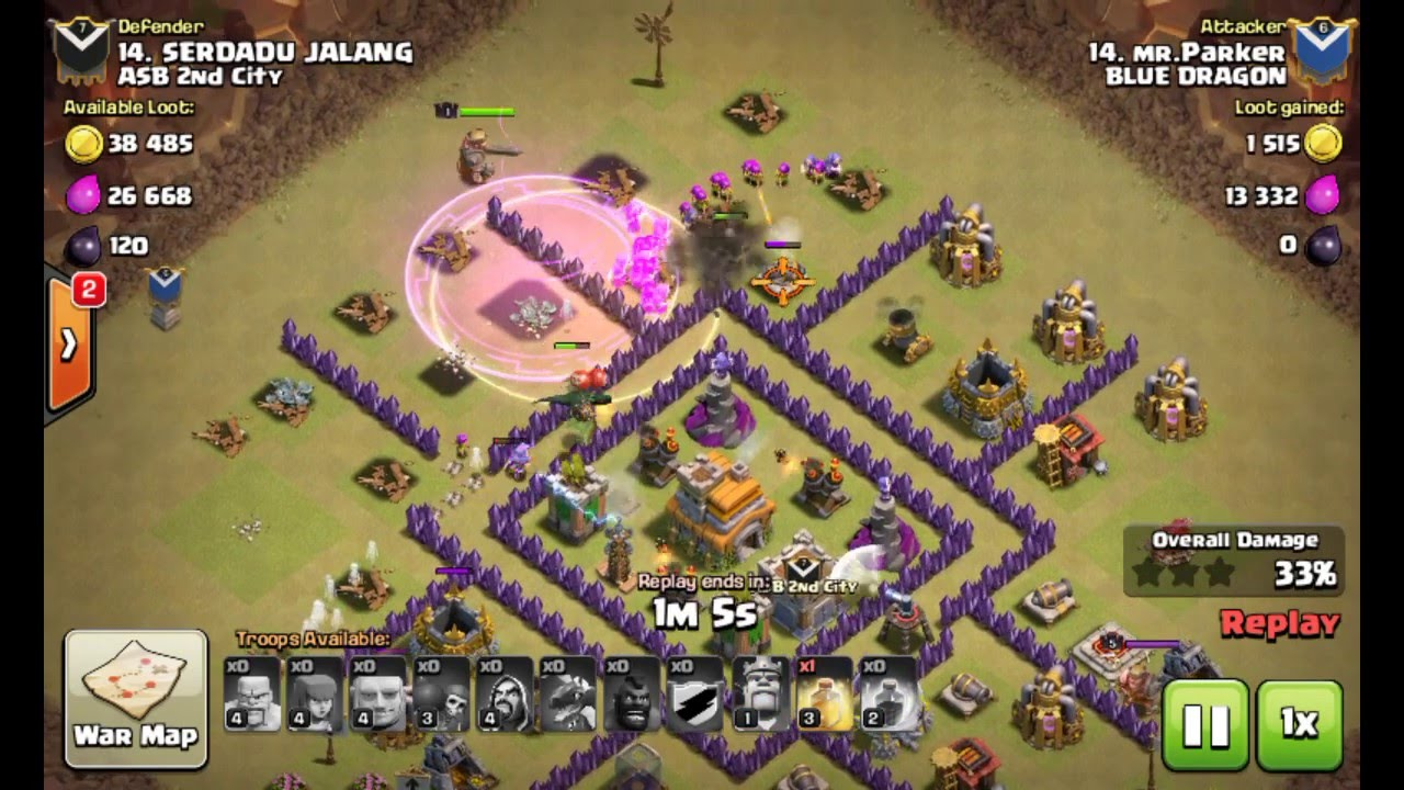 Base War Coc Th 7 Anti Naga 5
