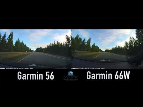 Garmin Dash Cam 56 Vs 66W Side-By-Side Comparison | 140 Vs 180 Degree Viewing Angle