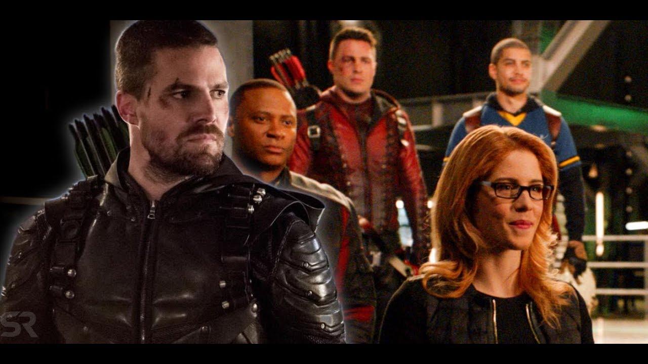 Arrow Confirms Oliver Queen's Death In Season 8 | ScreenRant