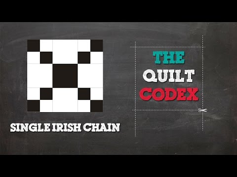 Single Irish Chain Quilt Block Tutorial
