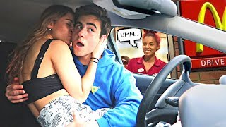 Making AWKWARD SITUATIONS In Drive Thru's!
