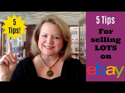 5 Tips for Selling Lots on eBay - Increase eBay Sales