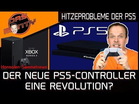 Playstation 5 Controller vorgestellt - Hitzeprobleme bei der PS5?   Google Stadia gratis   DasMonty