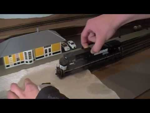 How To Clean Model Railroad Locomotive Wheels