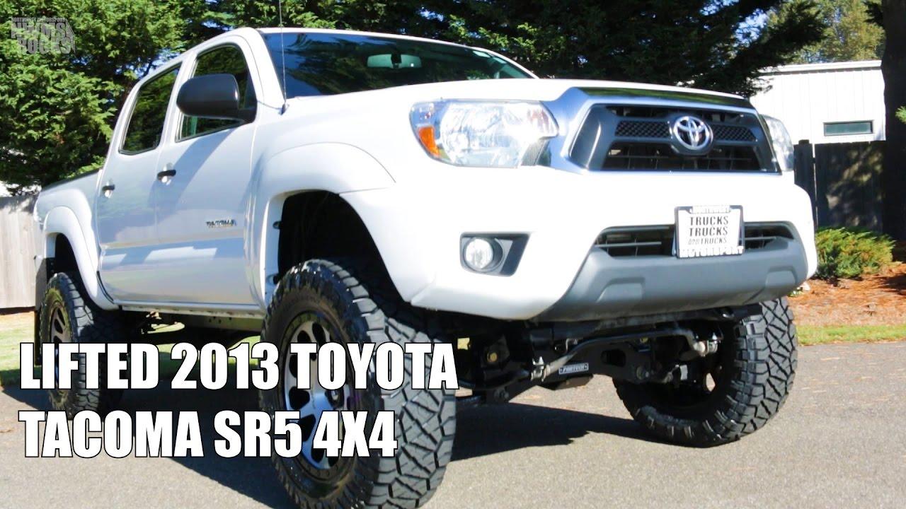 2016 Toyota Tacoma Lifted >> LIFTED 2013 TOYOTA TACOMA SR5 4X4 - YouTube