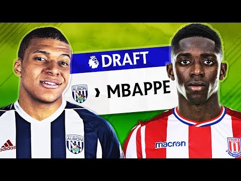 What if the Premier League had a NFL Style Draft? - FIFA 18 EXPERIMENT!