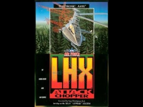 LHX Attack Chopper 1990 PC DOS by Electronic Arts