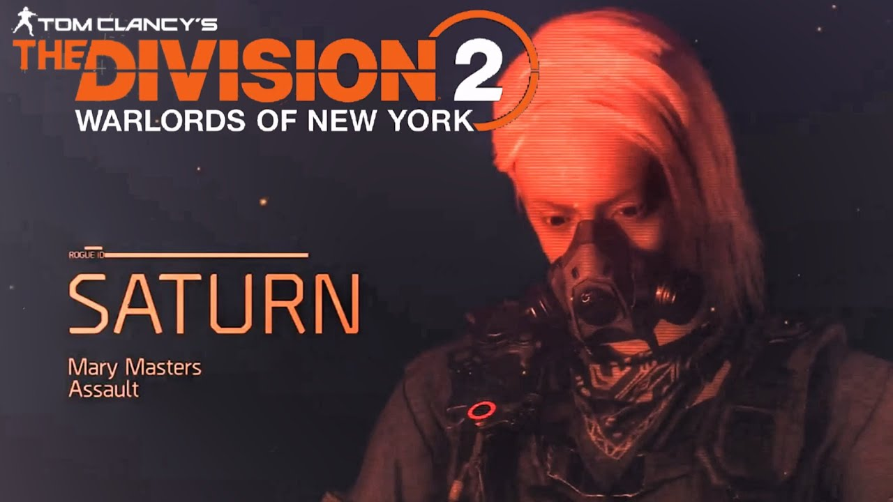 Tom Clancy's The Division 2 Warlords Of New York: Rouge Agent Saturn