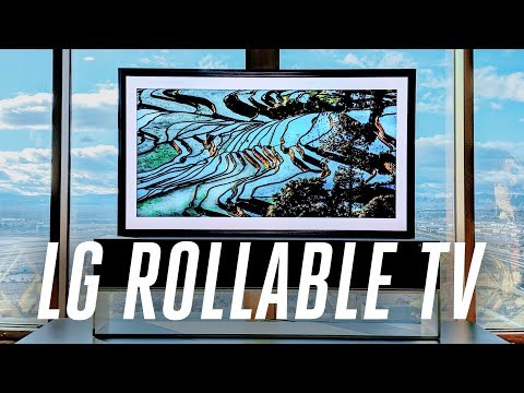 download The LG rollable display is now a real 65-inch TV