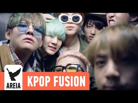 BTS (방탄소년단) - Run | Areia Kpop Fusion #19 REMIX