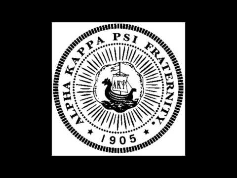Alpha Kappa Psi Anthem - 4 Part Harmony