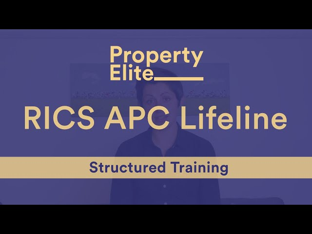 RICS APC Lifeline – Structured Training