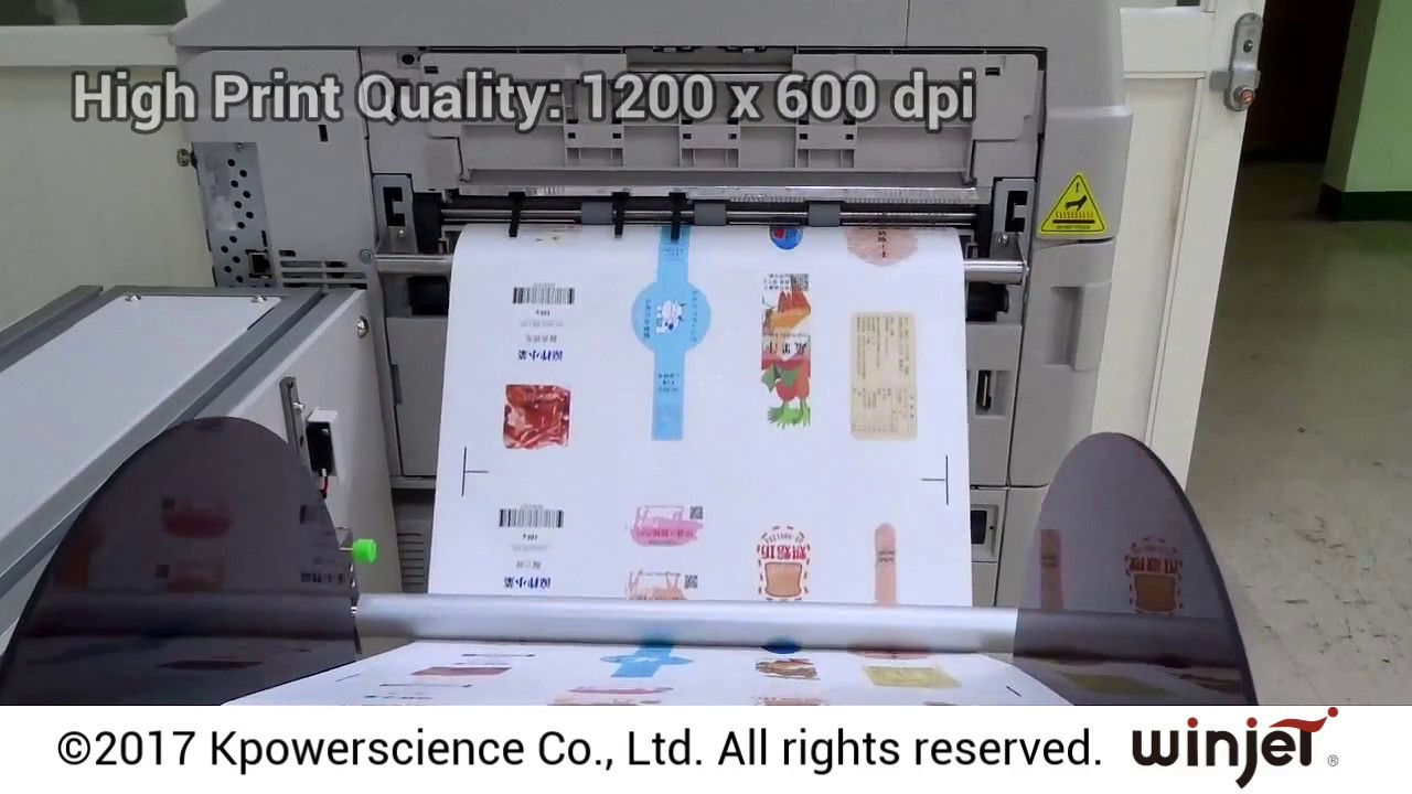 Color printing quality - Variprint Cp2280 The Continuous Color Laser Printer