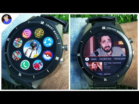 Cheapest Android SmartWatch | Gaming Test & Review