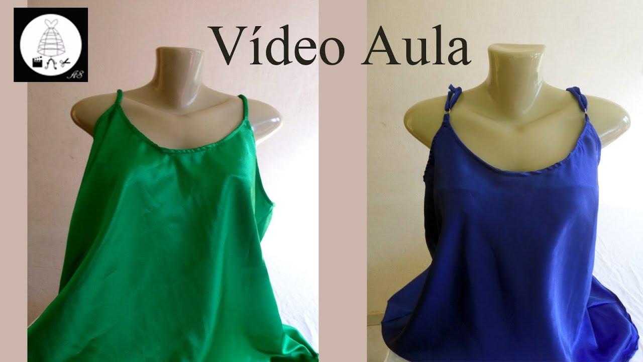 2c1fc0362 Como fazer blusa com regulagem nas alças Alana Santos Blogger