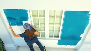 Pequeñas de casas pintura exterior