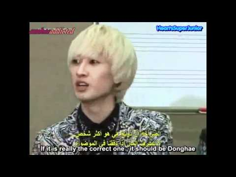 [Eng Sub] EunHae Moment in KBS Arab Radio Interview-Donghae spend the most of Eunhyuk money?
