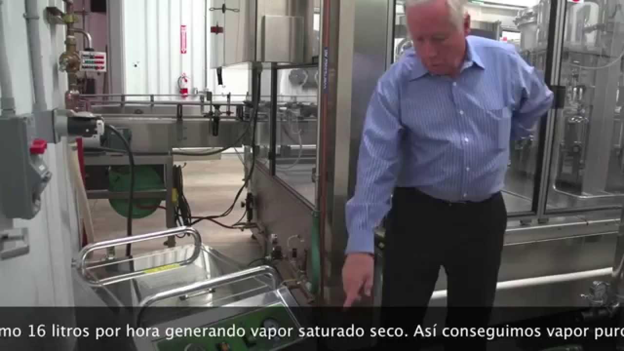 Limpieza y desinfecci n a vapor en la industria de vino - Maquinas de limpieza a vapor industriales ...