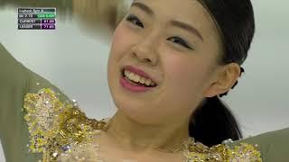 Рика Кихира Произвольная программа Женщины Финал Гран при по фигурному катанию 2019 20