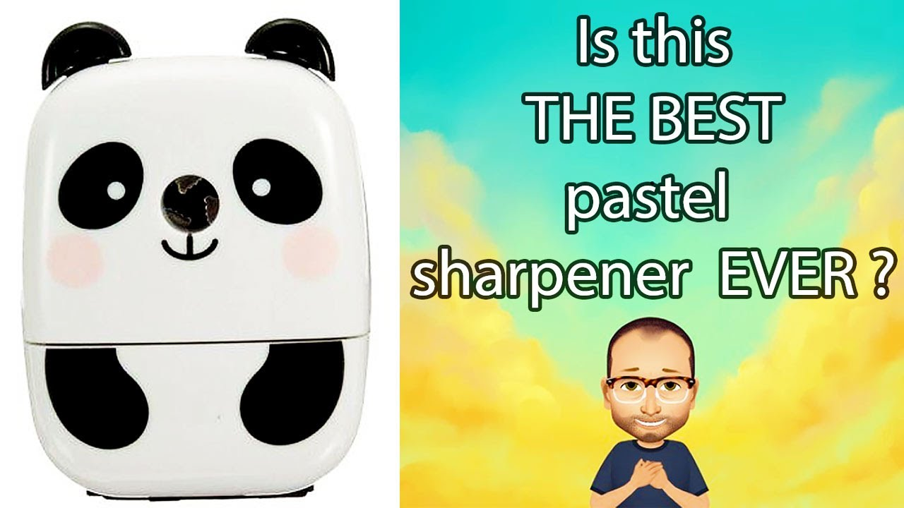 Best pastel pencil sharpener EVER?