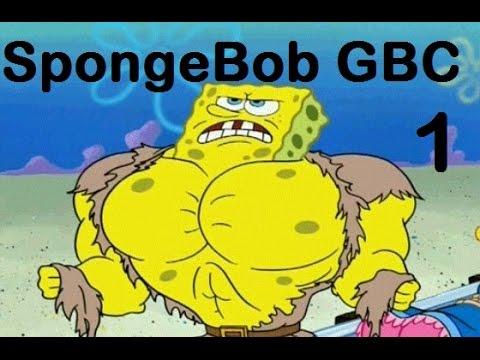 Let's Play #1: Spongebob GBC- Part 1 (Buff Guy)