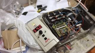 видео Частотный преобразователь 5,5 кВт