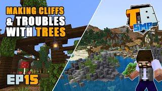Terraforming coastlines and making trees  | Truly Bedrock Season 2 [15] | Minecraft Bedrock