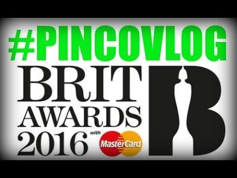 PINCO VLOG - BRIT AWARDS 2016