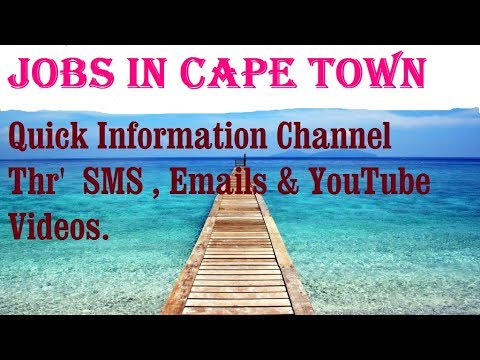 Jobs In CAPE TOWN    City For Freshers & Graduates. Industries, Companies.  SOUTH AFRICA