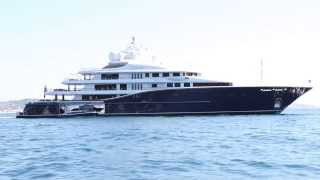 Superyachts Cakewalk,Dilbar,Hurricane Run