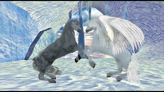 Клип\две лошади\