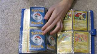 Pokémon Cards - reorganizing cards in binder pages ASMR