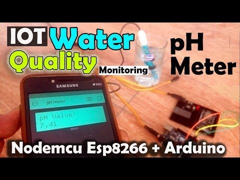 IOT Based Water Quality Monitoring Using Arduino, PH Sensor, Nodemcu ESP8266 & Blynk