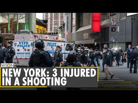 New York Times Square shooting leaves three injured | Latest World English News | WION News