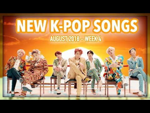 NEW K-POP SONGS | AUGUST 2018 (WEEK 4)