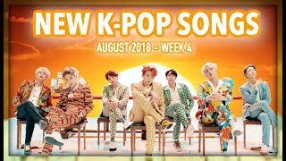 NEW K-POP SONGS | AUGUST 2018 (WEEK 4) - Stafaband