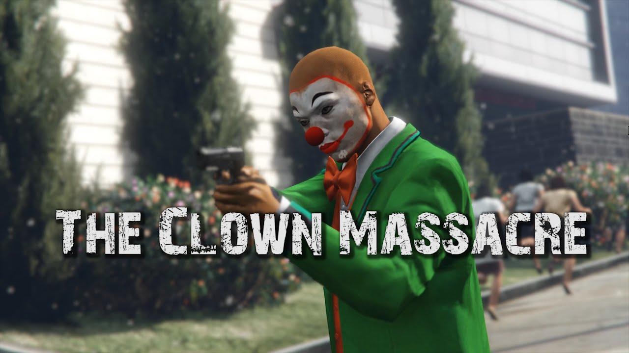 Clown Massacre [GTA V PC] A Director Mode Test