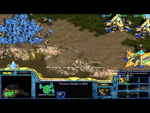 StarCraft: Brood War Campaign: Enslavers -- Episode I 2B. The Rescue (Protoss Option)