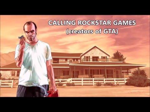Trevor Philips prank calls Rockstar & Apple