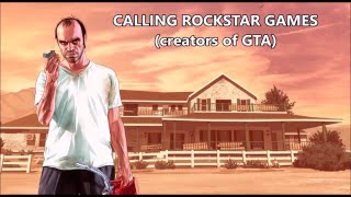 Trevor Philips prank calls Rockstar & Apple