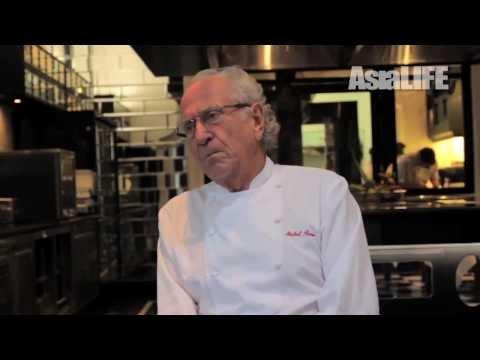 Michel Roux on Gordon Ramsey on AsiaLIFE Magazine